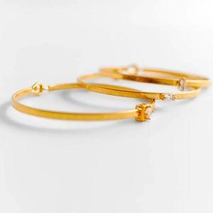 🌈2/$30 New Set of 3 Zara CZ Bracelets